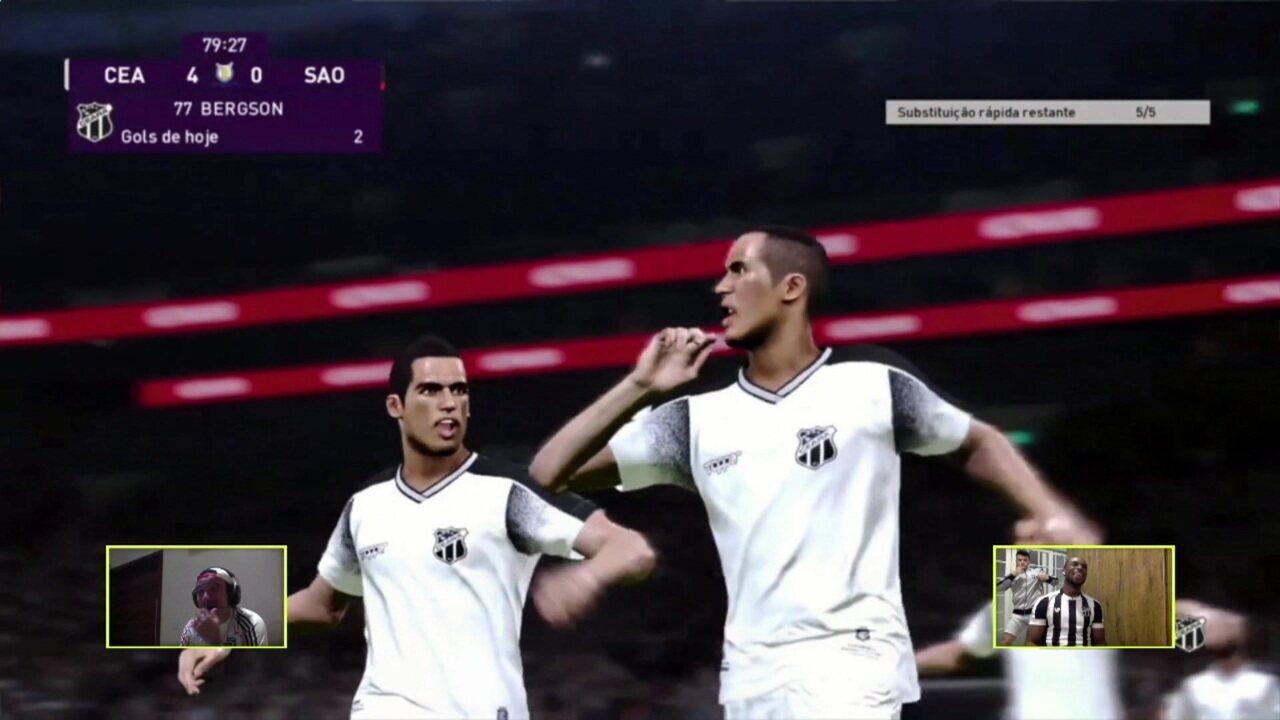 Melhores momentos: Ceará (Luiz Otávio) 4 x 0 (Pablo) São Paulo pelo Futebol de Casa