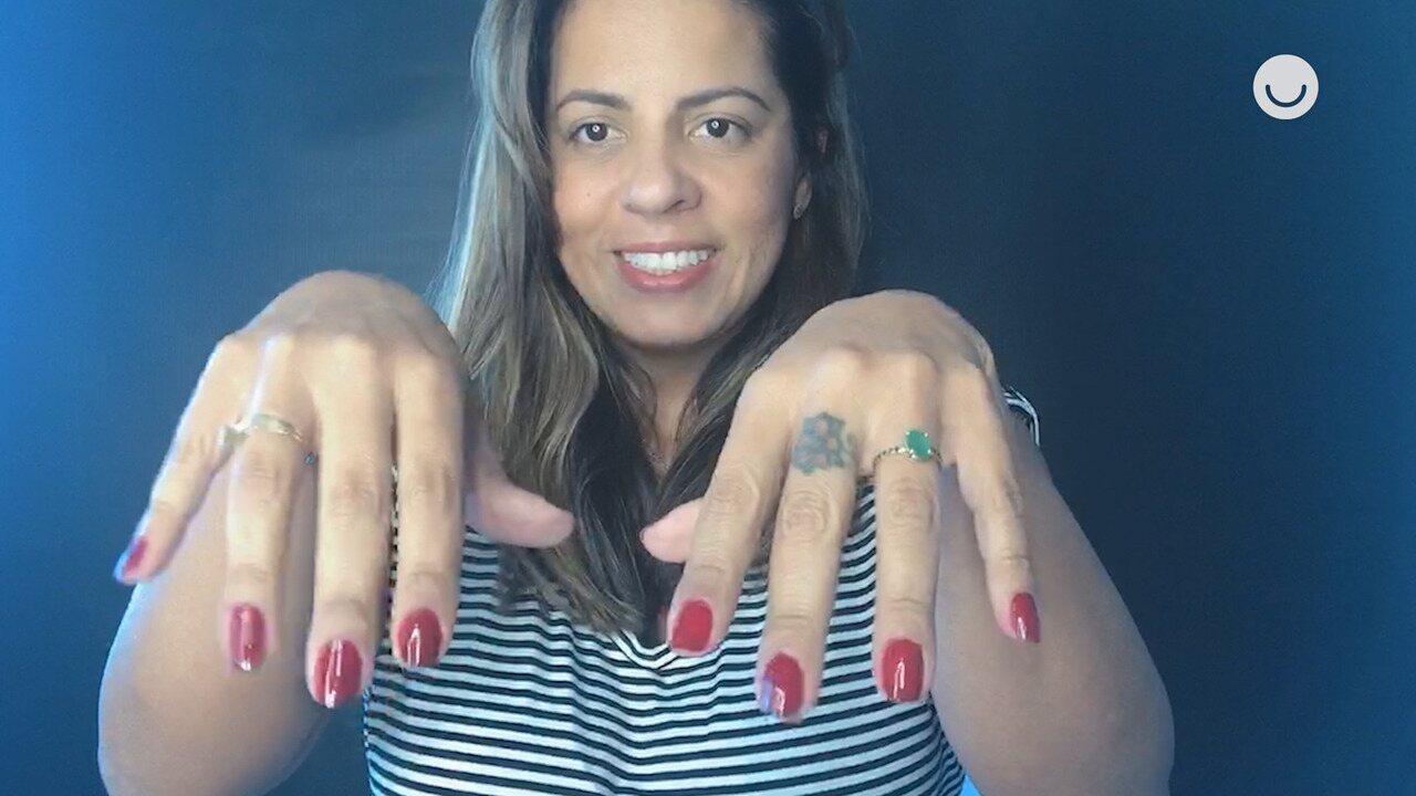 Fique Em Casa: caracterizadora da Globo ensina a pintar as unhas em casa