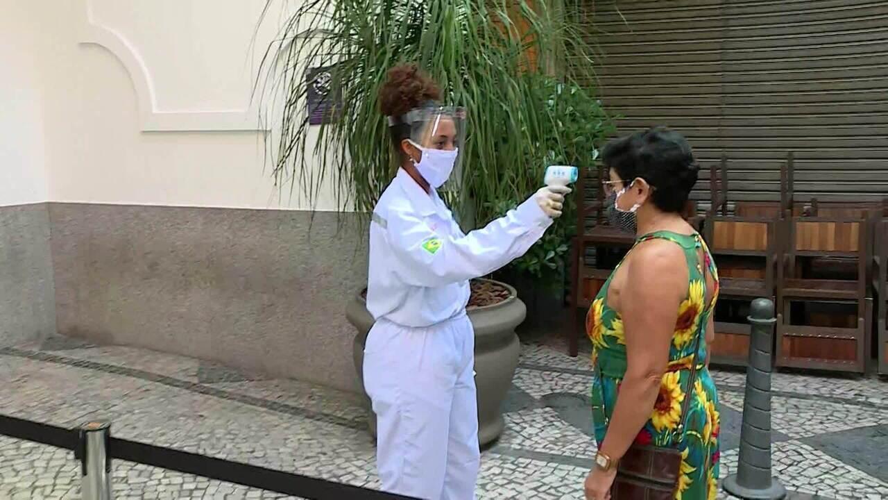Shoppings voltam a abrir no Rio de Janeiro