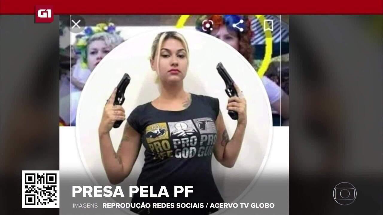 G1 em 1 Minuto: PF prende Sara Giromini e mais 5 em investigação sobre atos antidemocráticos
