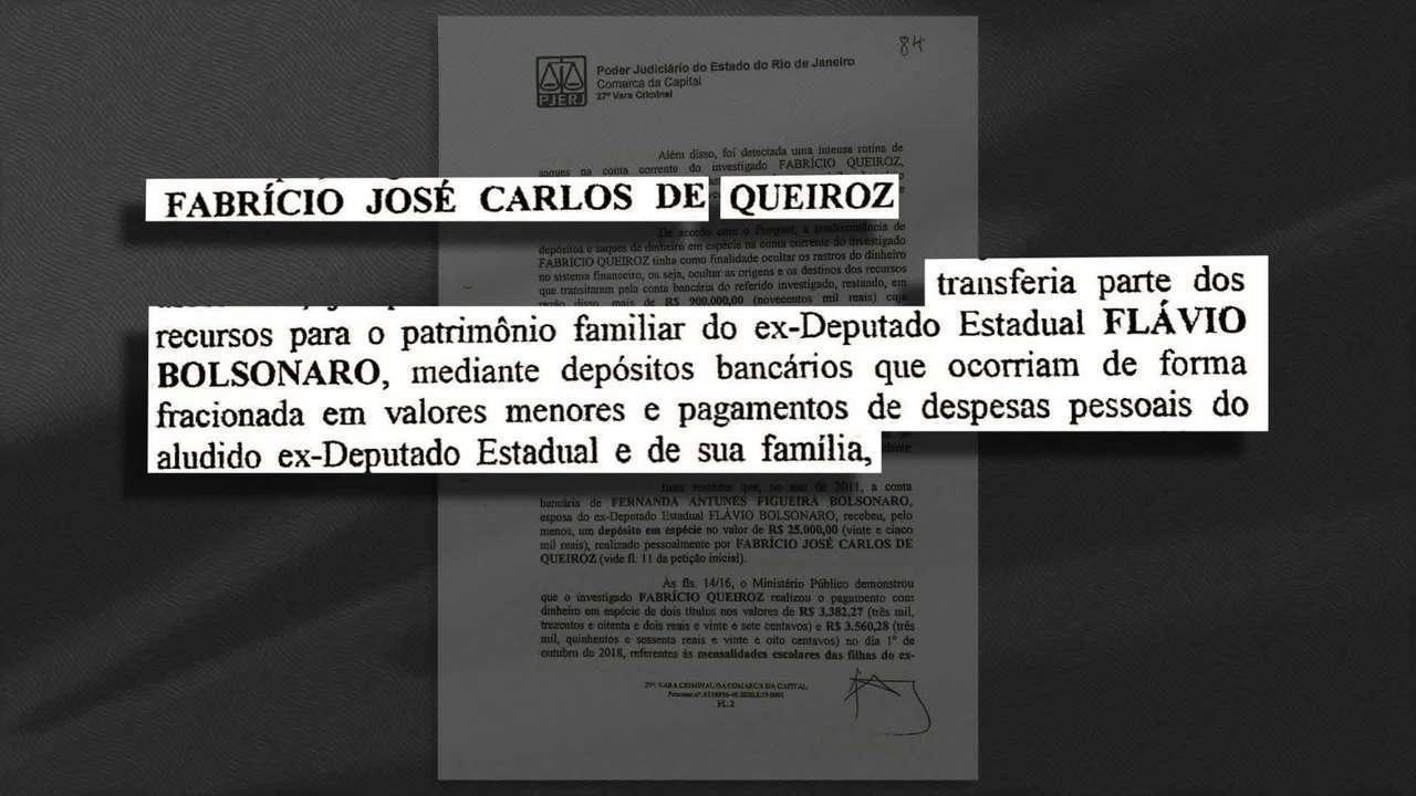 Veja outros trechos da decisão que autorizou a prisão de Fabrício Queiroz