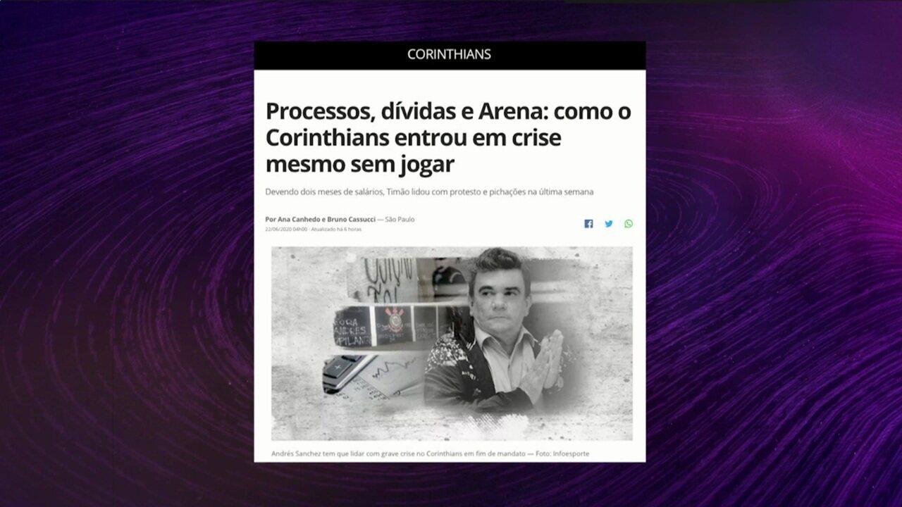 Bruno Cassucci traz informações sobre a crise no Corinthians