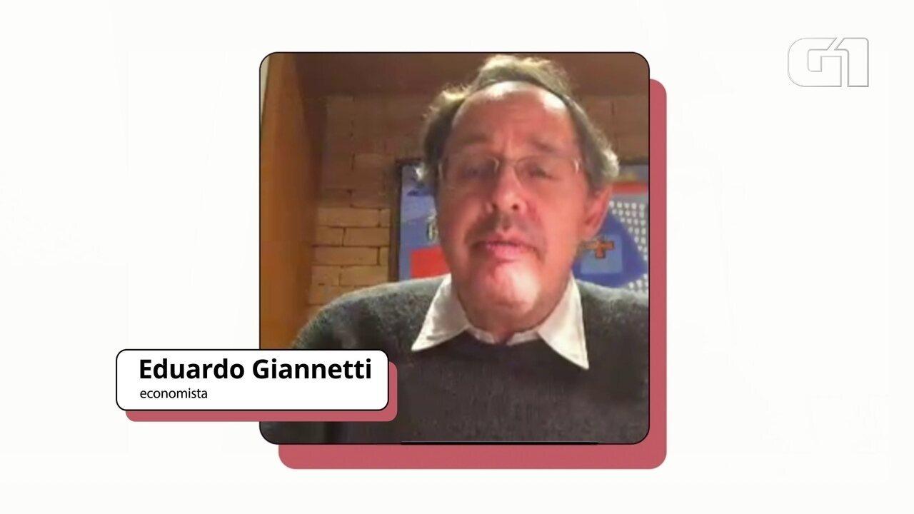 """Eduardo Giannetti diz que desigualdade """"tem que virar questão central após a pandemia"""""""