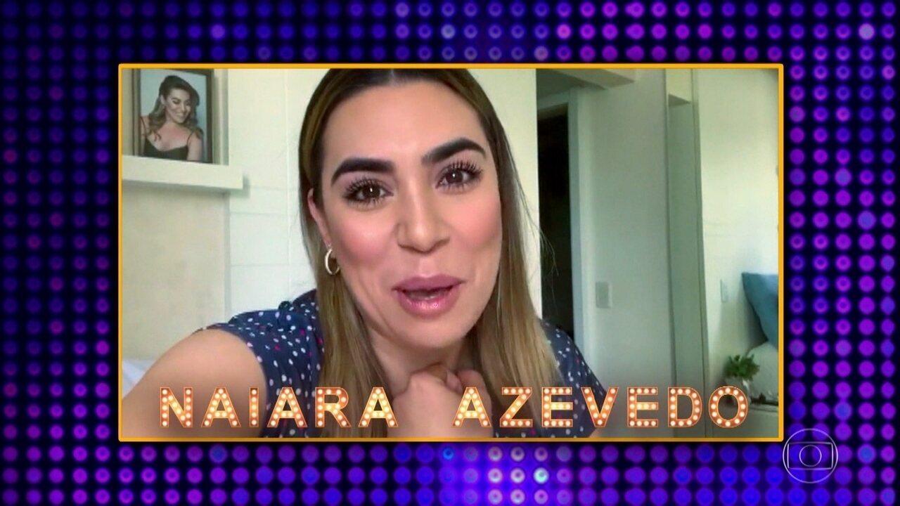 Naiara Azevedo e Belutti relembram a emoção de participar do 'Tamanho Família'