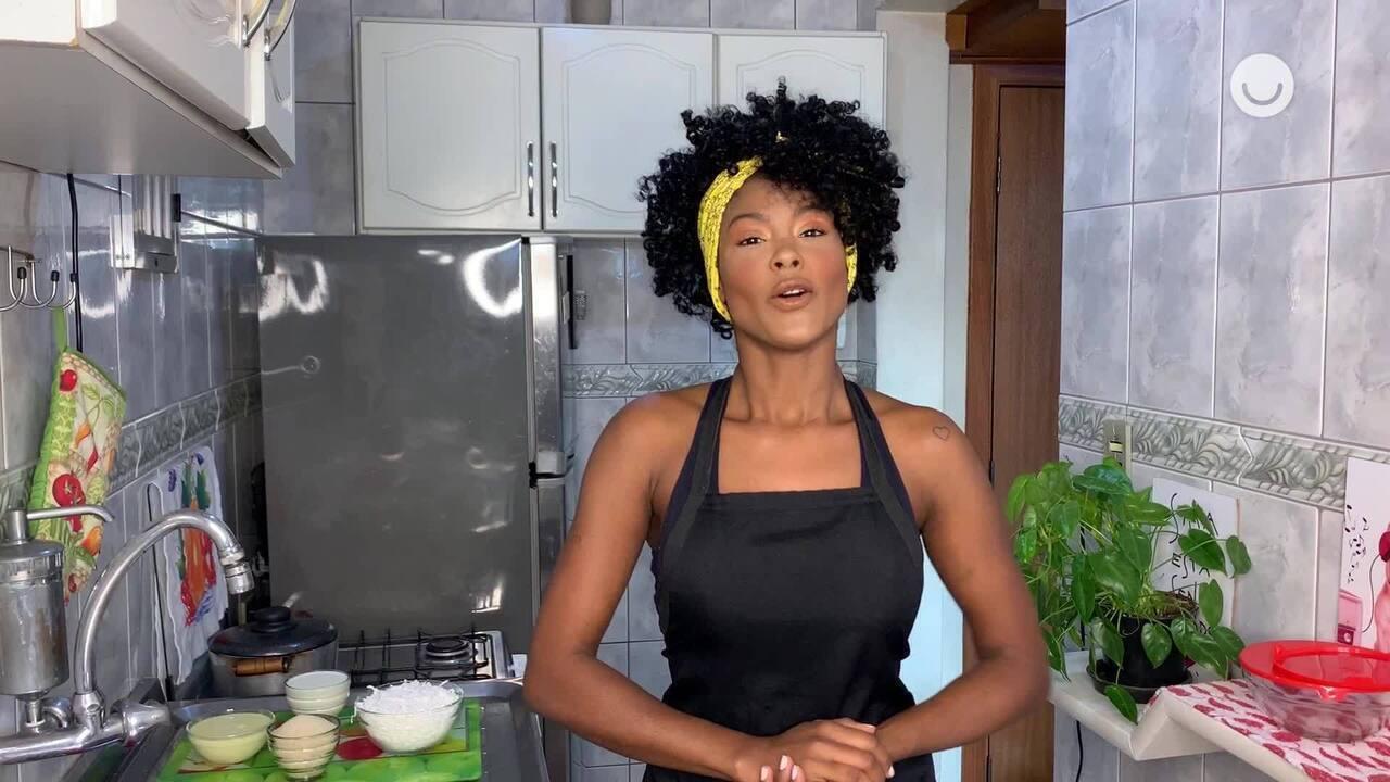 Jenny Araújo ensina a fazer cocada cremosa
