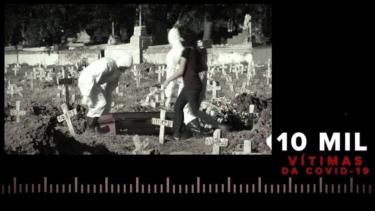 10 mil vítimas: veja a evolução do número de mortes da Covid-19 no Rio