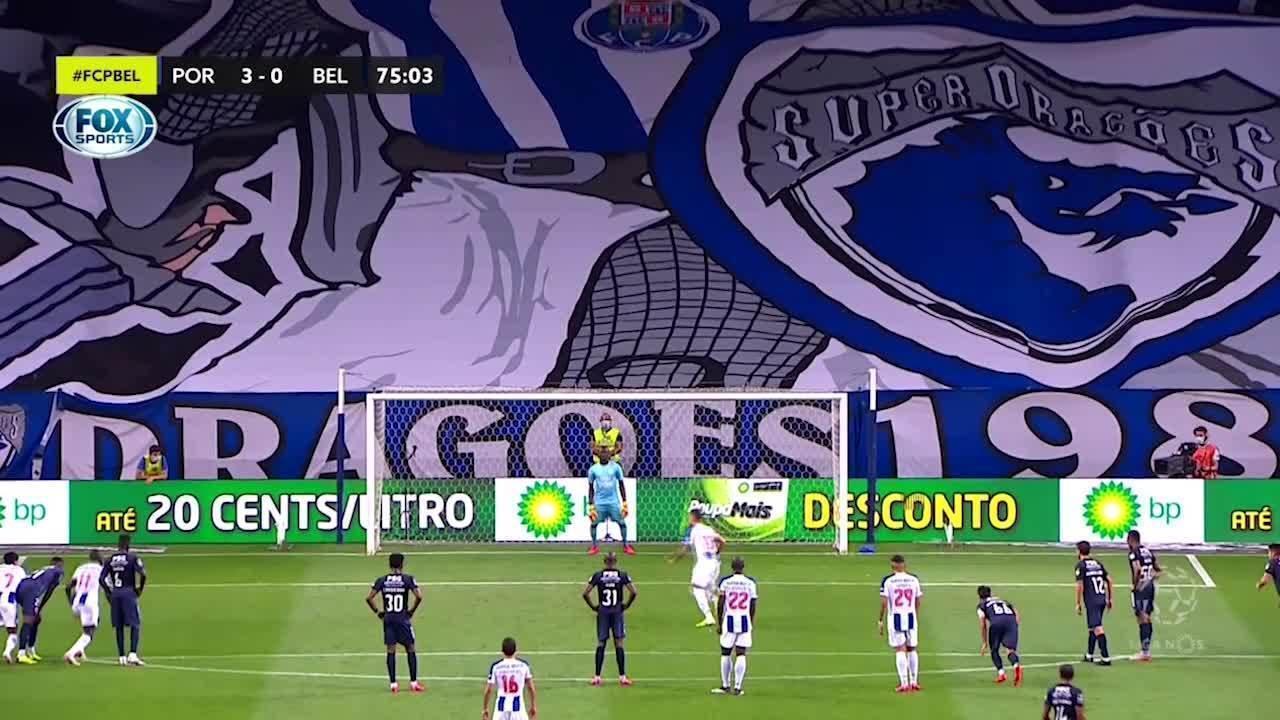 Os gols de Porto 5 x 0 Belenenses pelo Campeonato Português
