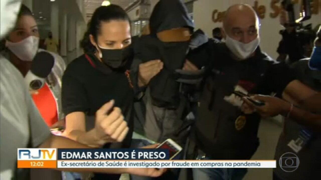 Ex-secretário de Saúde do RJ Edmar Santos é preso