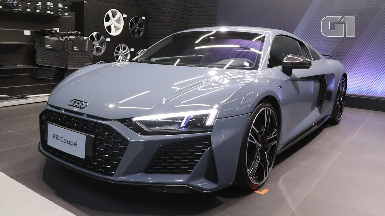 G1 visita 'garagem' da Audi, que tem 5 carros que somam 2.800 cv e valem R$ 4,2 milhões