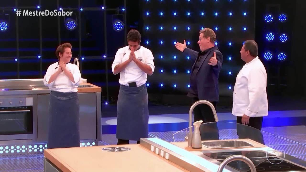 Ana e Dário são finalistas