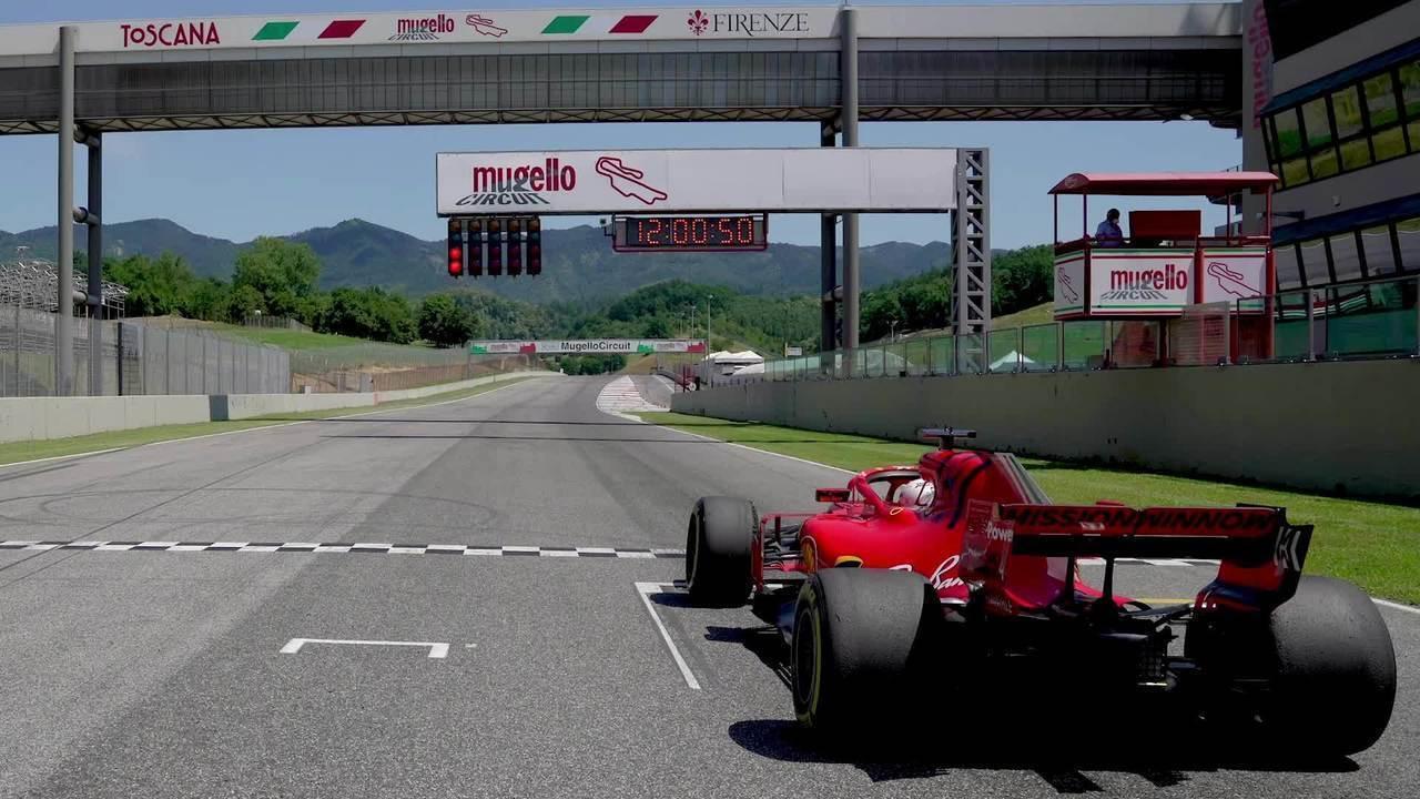 Imagens do Circuito de Mugello, sede do GP da Toscana Ferrari 1.000 da Fórmula 1