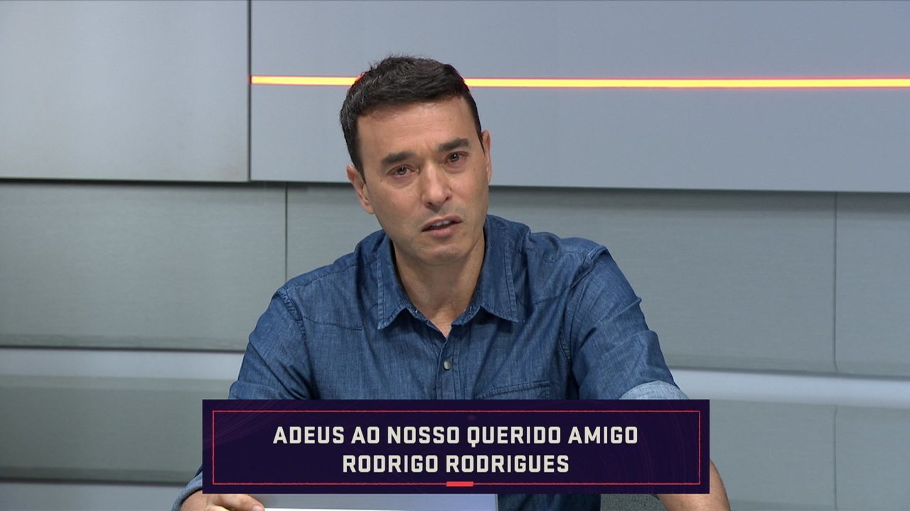 """André Rizek: """"Por onde passou, Rodrigo foi unanimidade"""""""