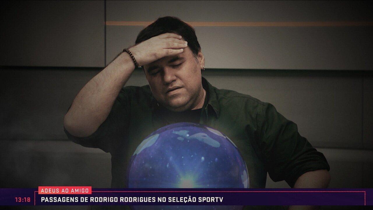 Relembre as passagens de Rodrigo Rodrigues no Seleção SporTV