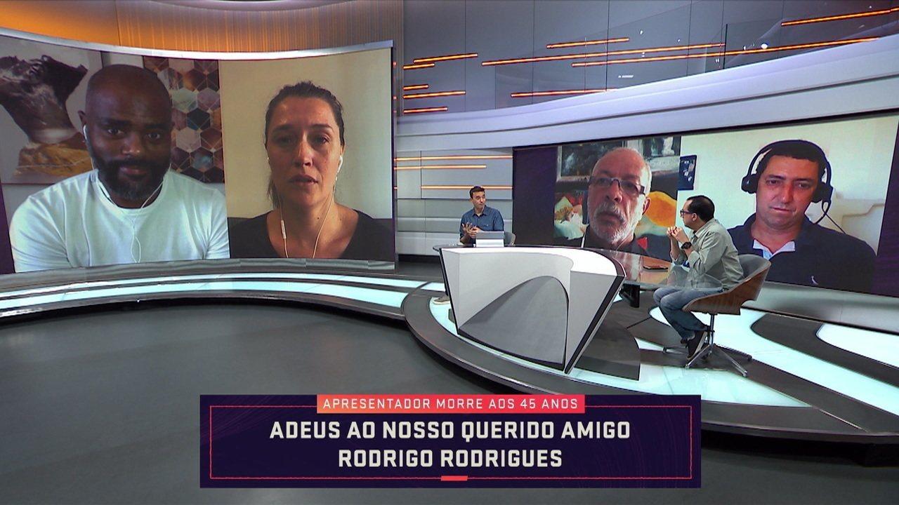 Companheiros de Troca de Passes, Ana Thaís Matos e Grafite se emocionam com a morte de Rodrigo Rodrigues