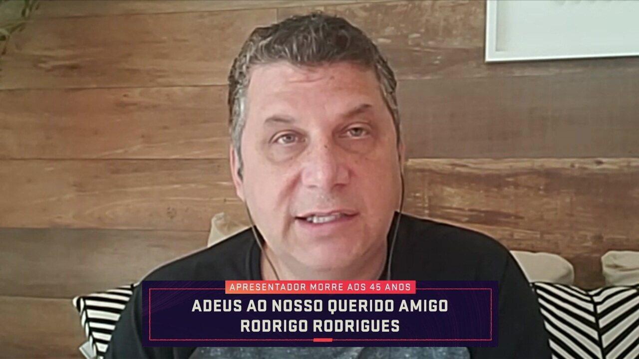 José Ilan exalta amizade com Rodrigo Rodrigues