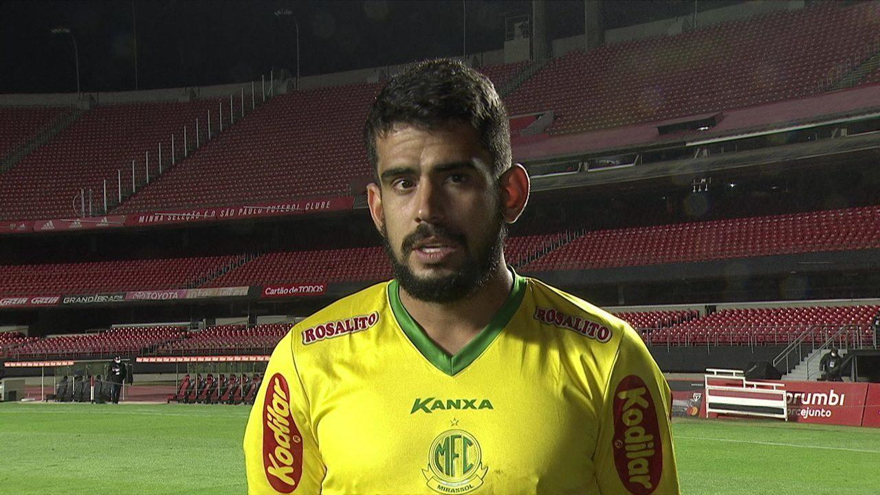 Zé Roberto diz que nem nos melhores sonhos imaginou marcar duas vezes contra o São Paulo