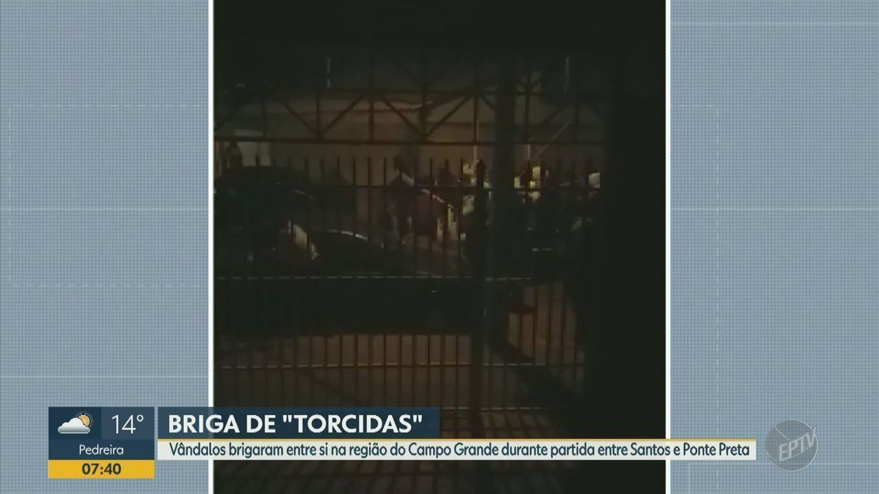 Confronto entre torcedores deixa feridos após jogo entre Ponte Preta e Santos