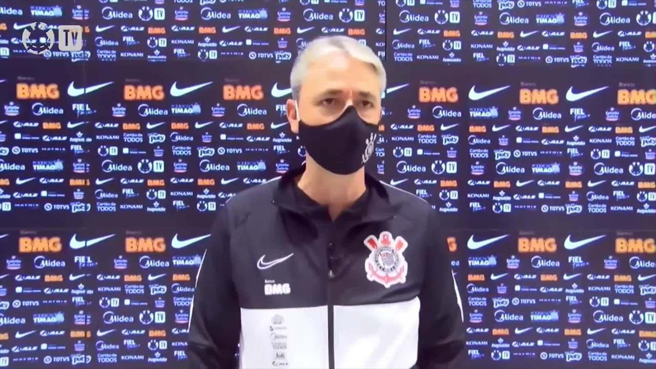 Entrevista de Thiago Nunes após classificação do Corinthians para a final do Paulistão