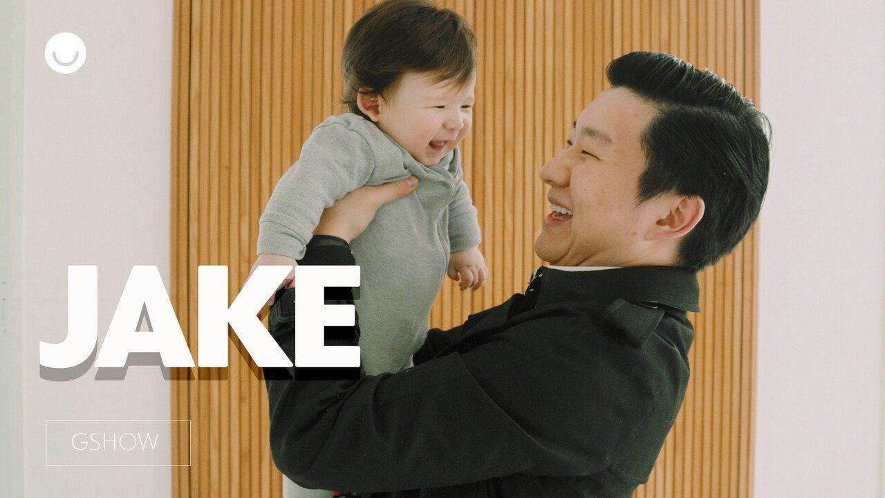 Em ensaio especial, Pyong Lee posa com o filho e celebra primeiro Dia dos Pais
