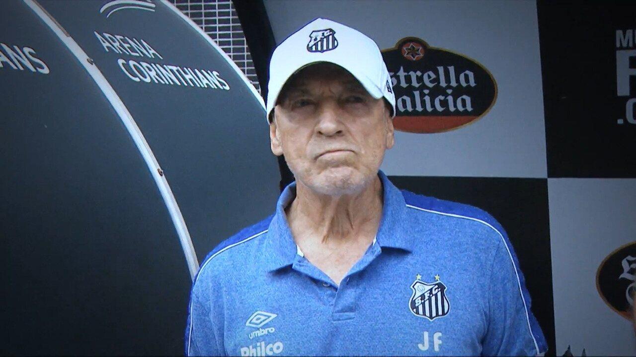 Fica ou vai embora? Os números do técnico Jesualdo Ferreira no Santos