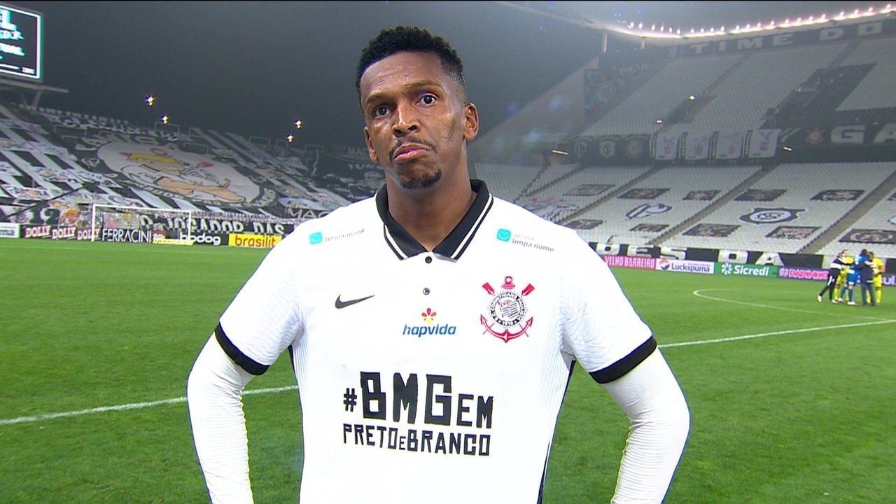 Veja como foi a entrevista de Jô depois do empate sem gols na primeira final do Paulistão