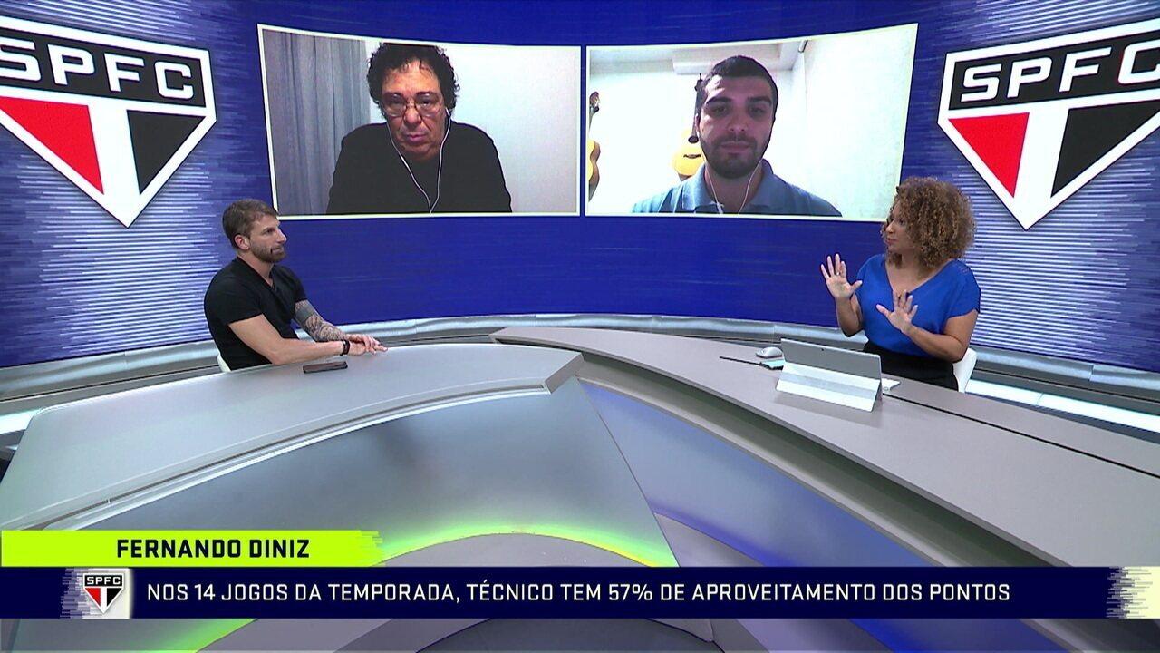 Com Fernando Diniz pressionado, Pato pode se sacado do ataque do São Paulo