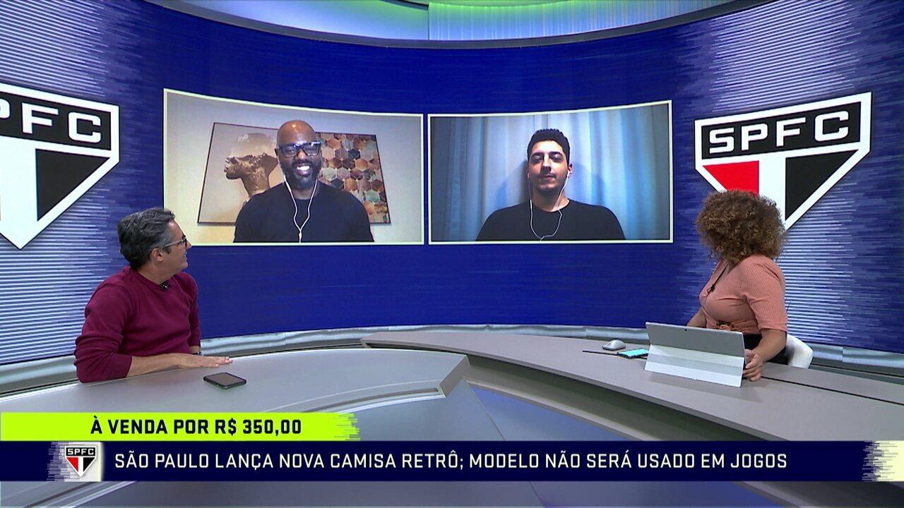 Marcelo Hazan traz as novidades do São Paulo no Troca de Passes