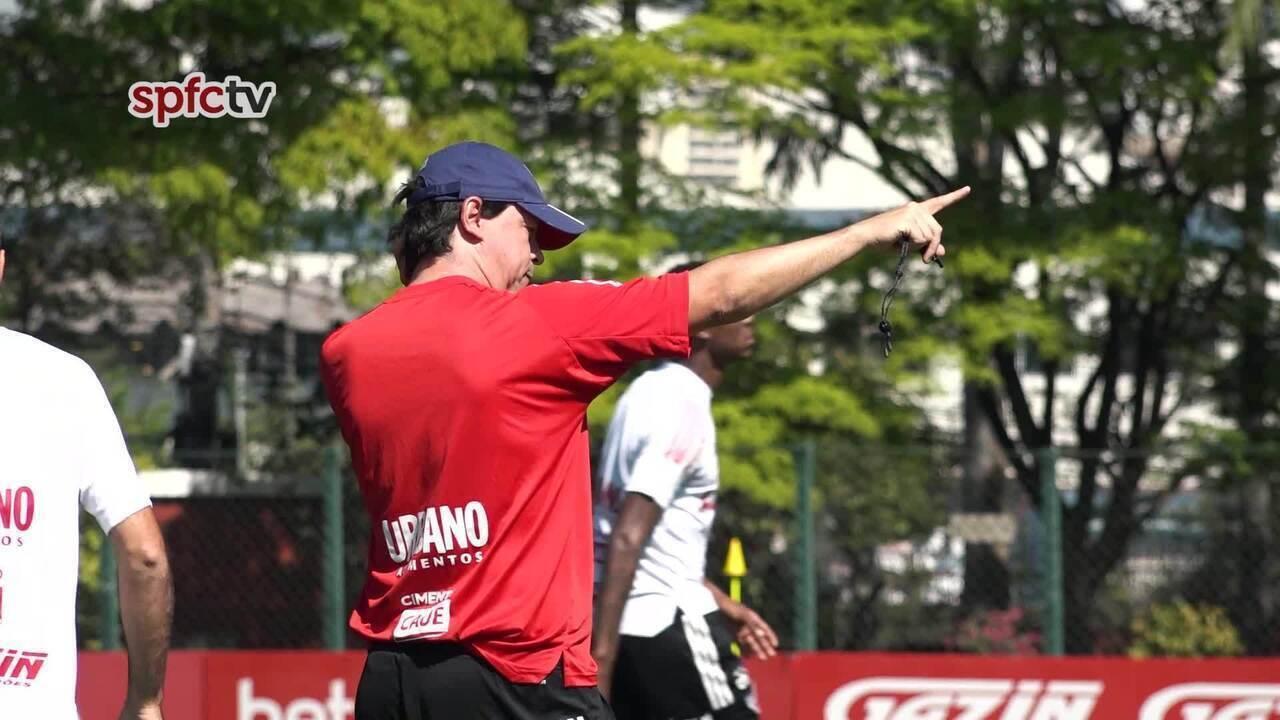 São Paulo treina nesta segunda-feira de olho no duelo com Fortaleza