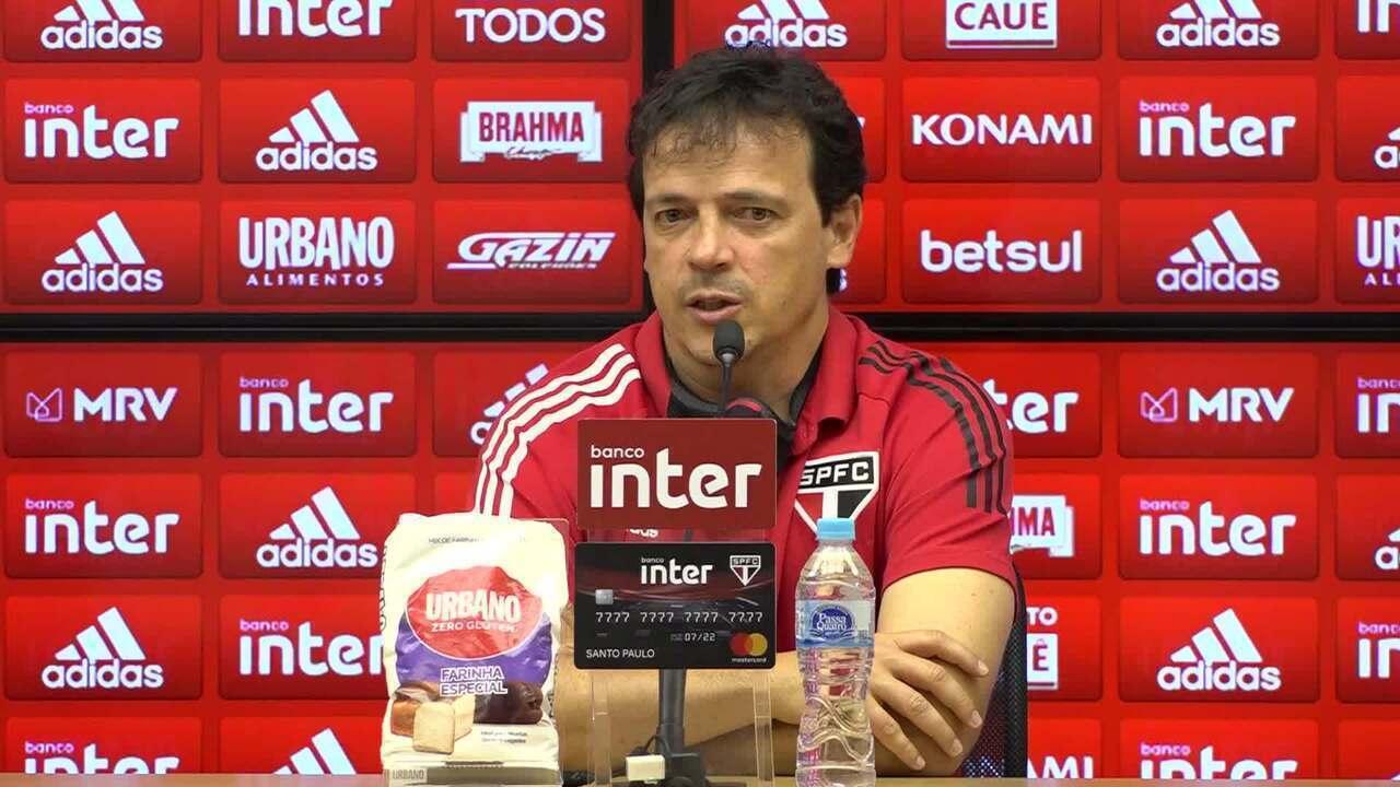 Confira a coletiva de Fernando Diniz, do São Paulo