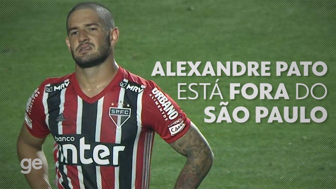 Alexandre Pato rescinde o contrato com o São Paulo e entra na mira do Internacional