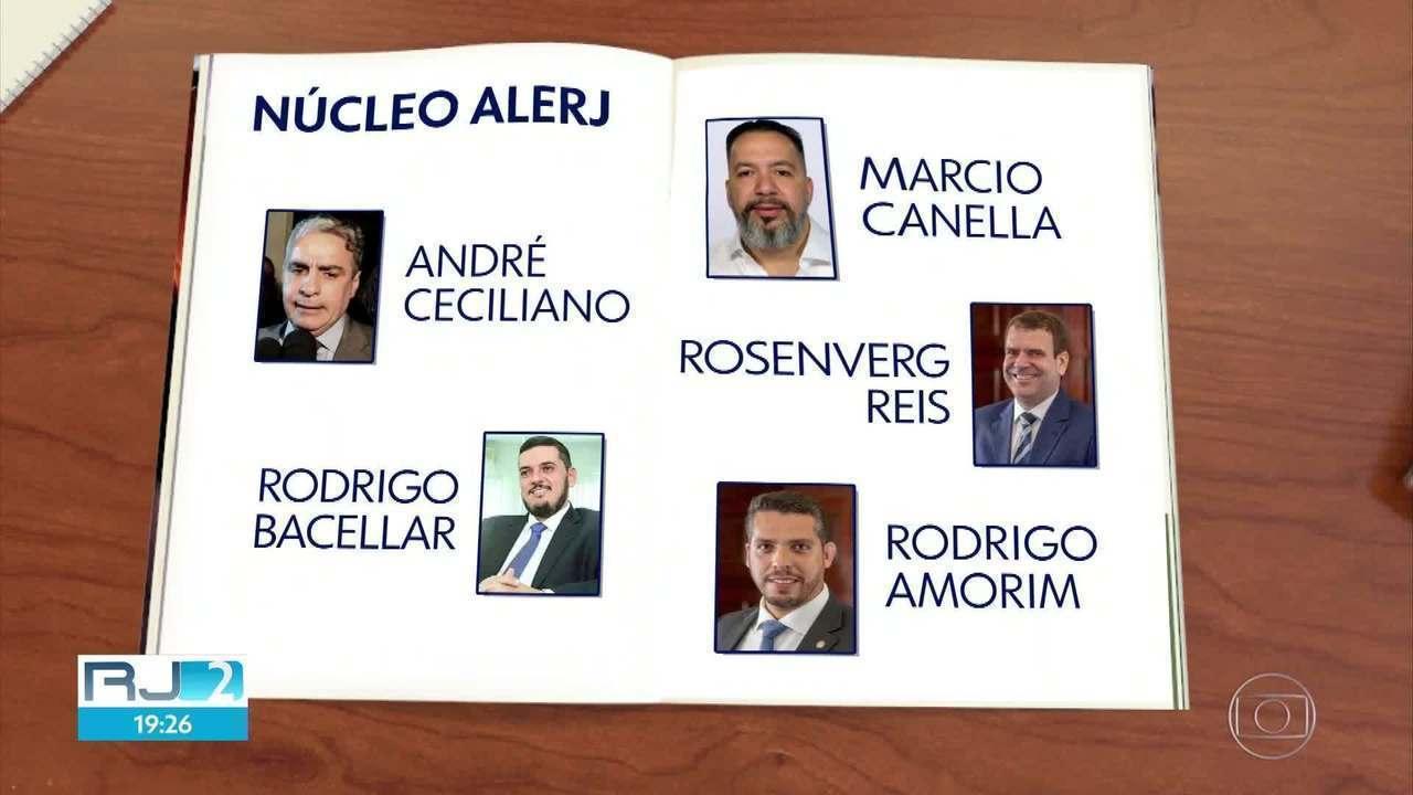 Mais de 50 pessoas são suspeitas de fazer parte de esquema de corrupção no governo do RJ