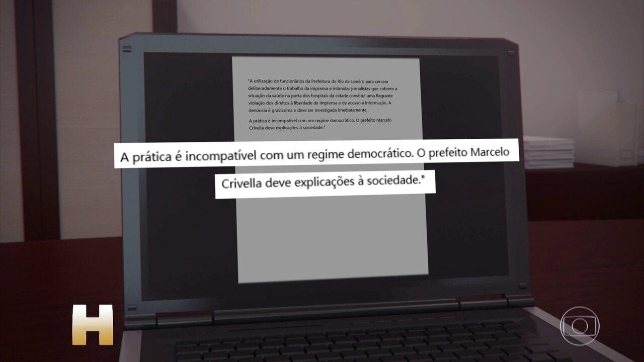 MPRJ investiga denúncia contra 'Guardiões do Crivella', grupo pago para impedir críticas