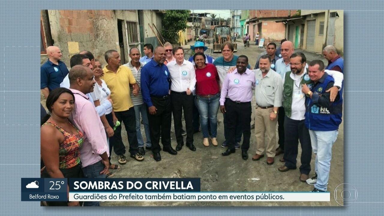 'Guardiões' do prefeito também batiam ponto em eventos públicos
