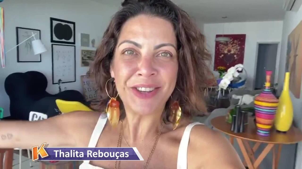 Thalita Rebouças fala de expectativa para retorno
