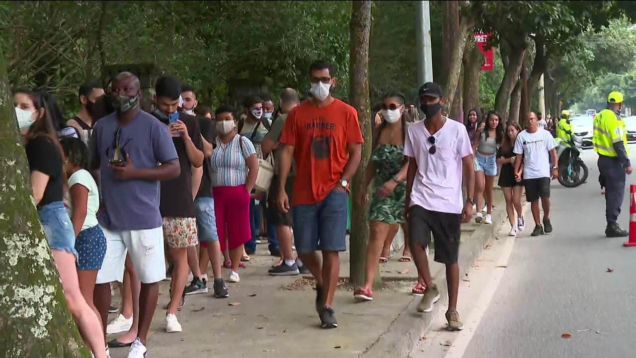 Parques no Rio têm filas neste feriado da Independência