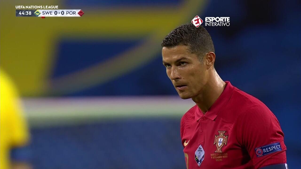 Os gols de Suécia 0 x 2 Portugal pela Liga das Nações