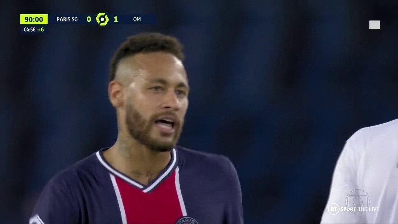 No Campeonato Francês, Neymar acusa jogador adversário de racismo