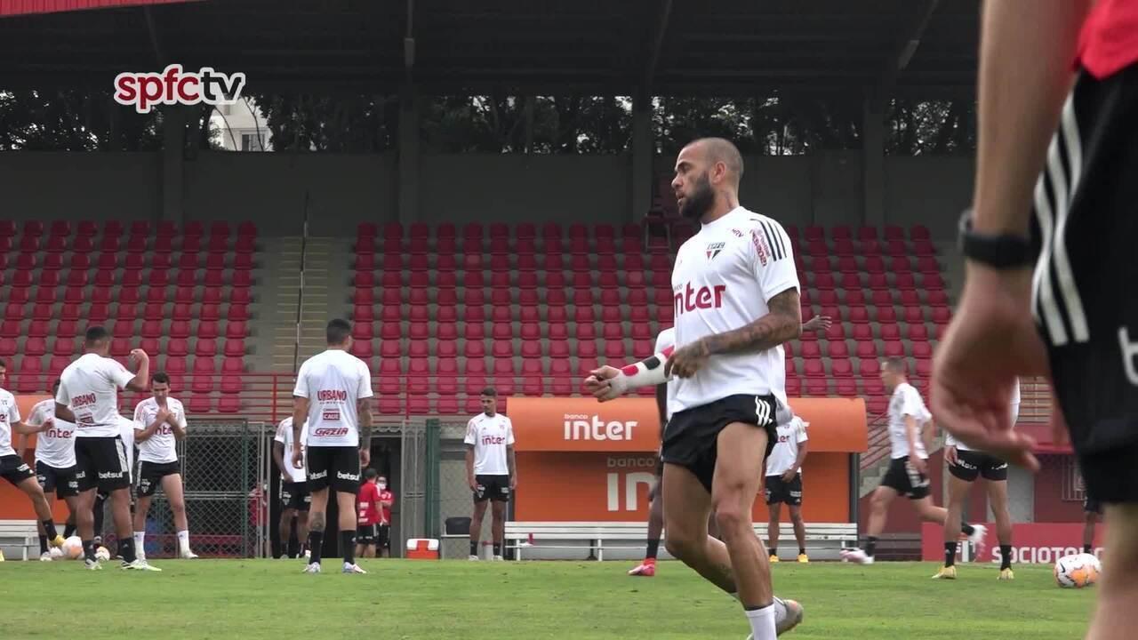 Veja o treino do São Paulo, desta quarta-feira, 16 de setembro