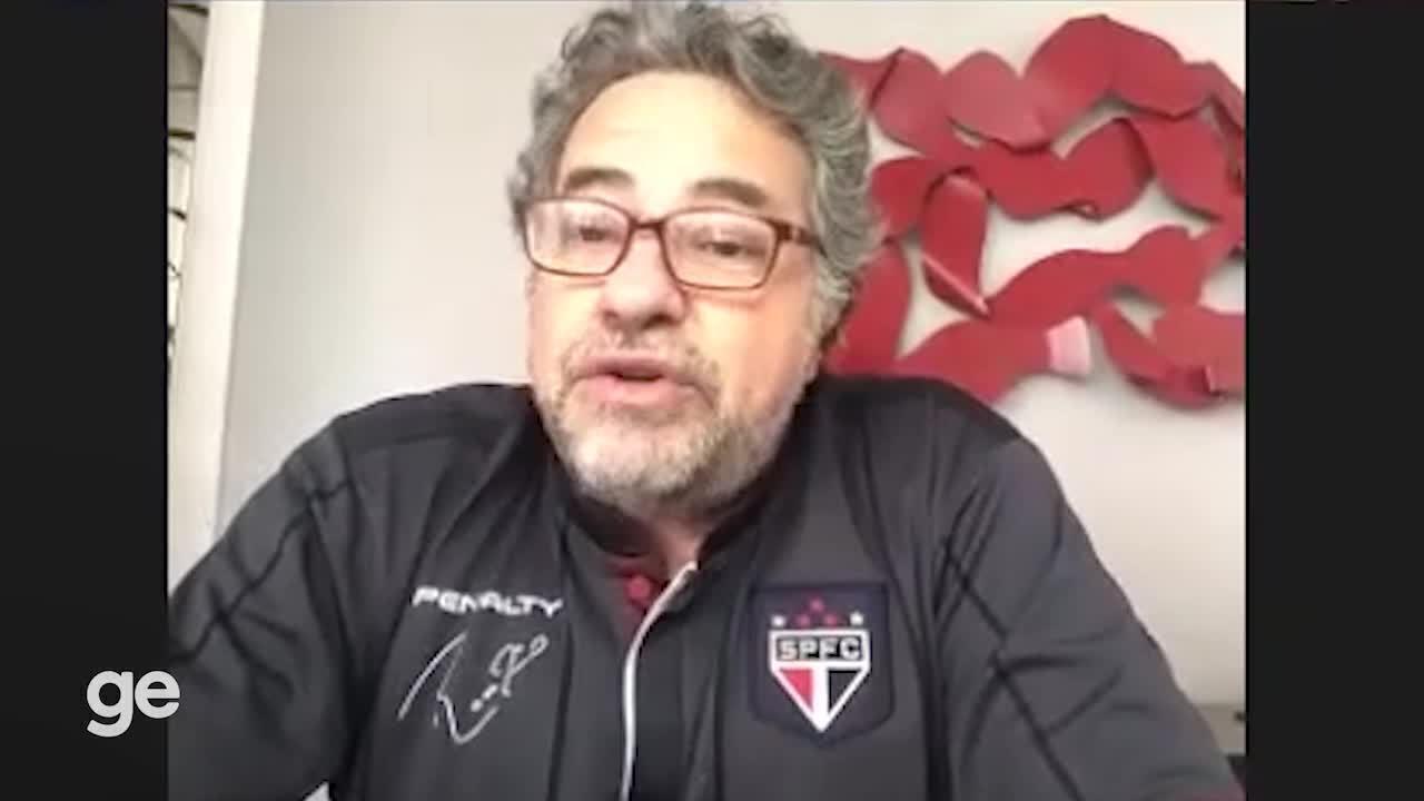 Julio Casares, candidato à presidência do São Paulo, fala de seu planos de gestão