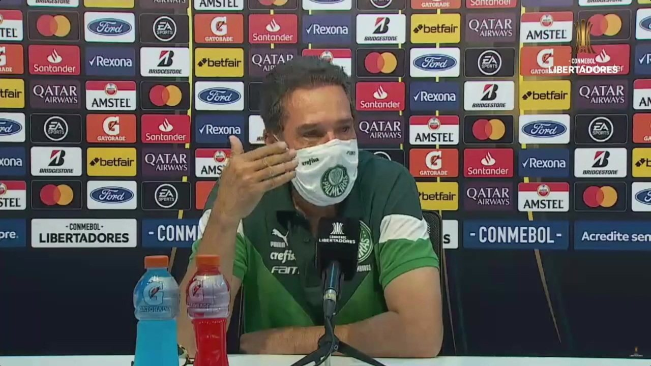 Confira coletiva de Vanderlei Luxemburgo, após empate sem gols de Guaraní-PAR x Palmeiras