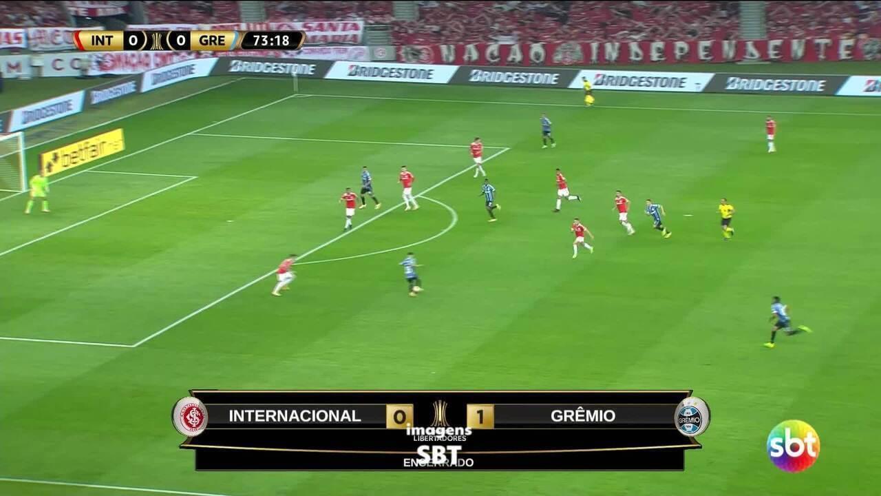 Veja o gol do Pepê no Gre-Nal da Libertadores
