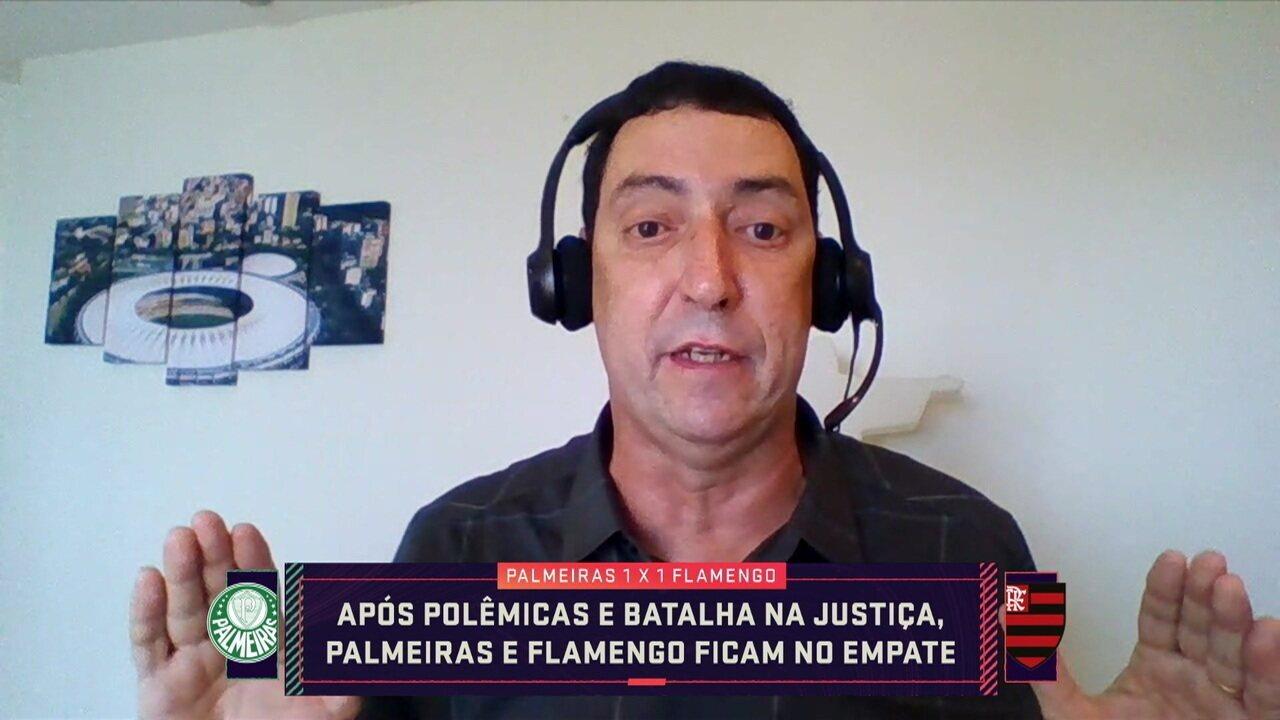 """PVC dispara, após polêmicas nos bastidores de Palmeiras x Flamengo: """"Foi uma vergonha!"""""""