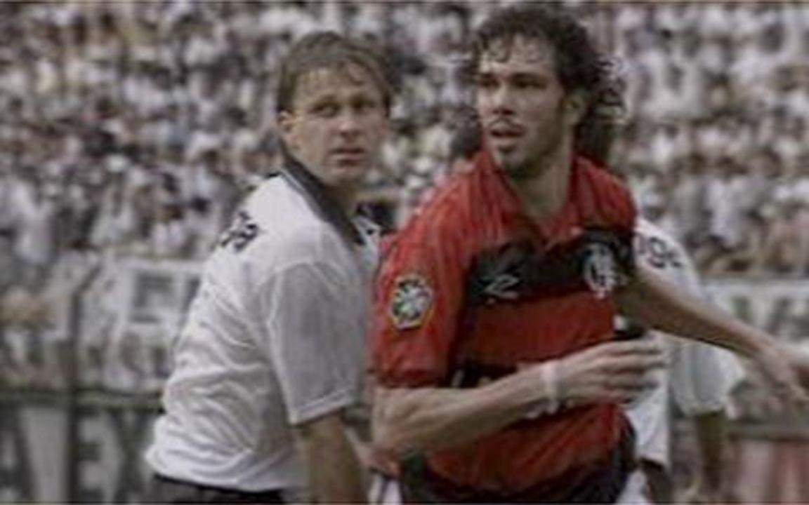 Em 1993, melhores momentos de Corinthians 1 x 0 Flamengo pelo Campeonato Brasileiro