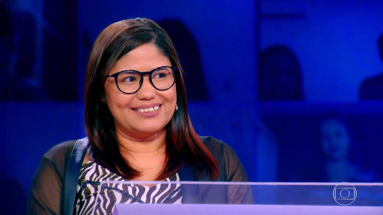 Raquel Costa vai em busca do prêmio do 'Quem Quer Ser Um Milionário'
