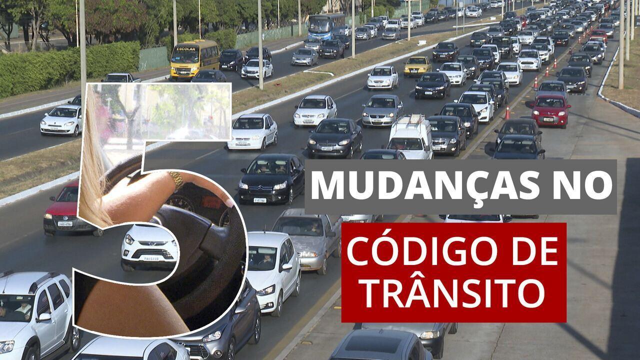 Bolsonaro sanciona lei que modifica as regras do Código de Trânsito