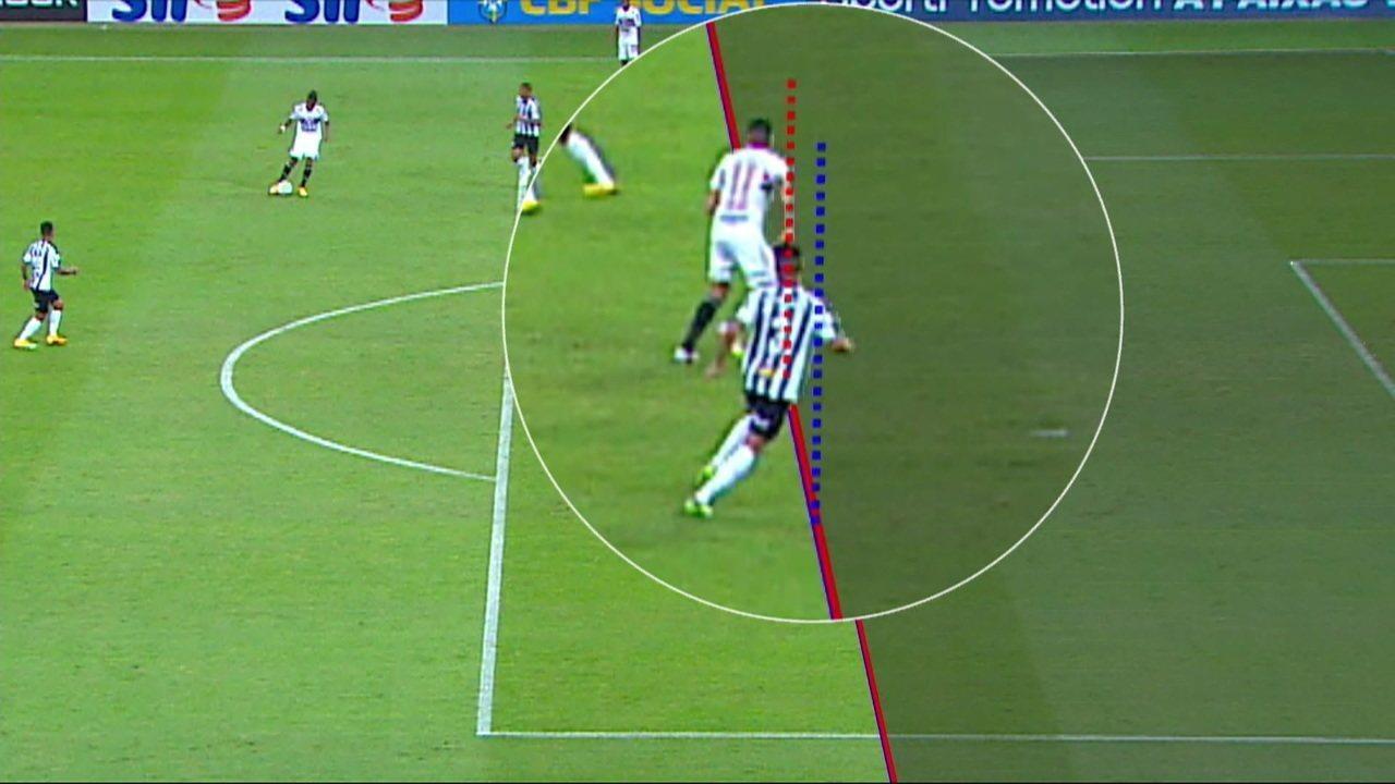 """Gaciba fala sobre o erro de arbitragem no jogo entre Atlético-MG x São Paulo: """"A linha não foi colocada no local correto"""""""