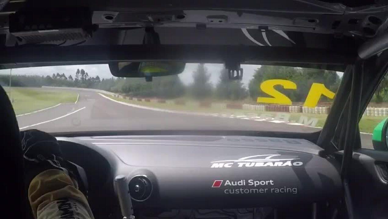 Onboard: Márcio Basso dá uma volta com o Audi RS 3 LMS do TCR Sul-Americano