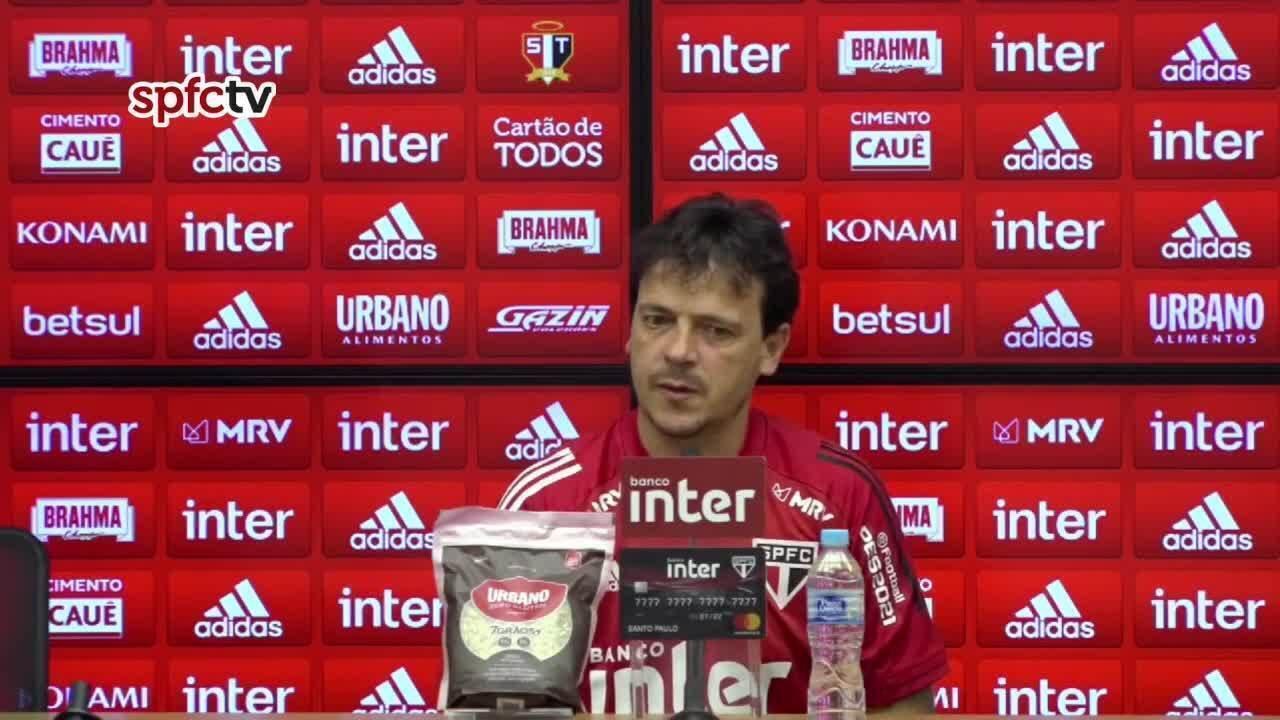 Assista a coletiva de Fernando Diniz após São Paulo 0 x 0 Grêmio