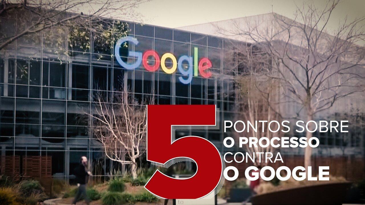 Veja 5 pontos sobre do processo contra o Google nos EUA