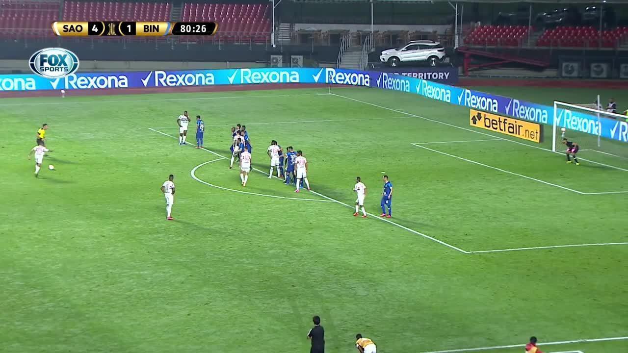 Melhores momentos de São Paulo 5 x 1 Binacional pela 6ª rodada da Taça Libertadores